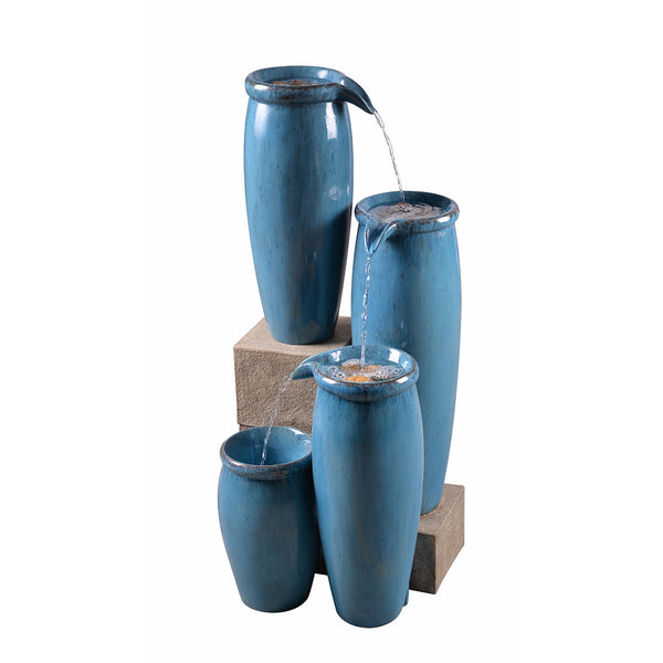 Vessel Indoor Outdoor Floor Fountain - Soothing Company