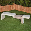 Vienna Contemporary Stone Bench - Soothing Company