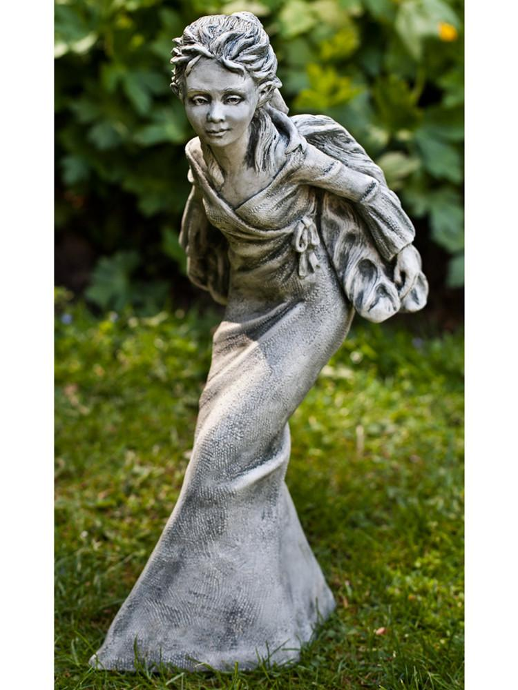 Violet Cast Stone Garden Statue - Soothing Company