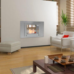 Eco-Feu Wellington 2-Sided Biofuel Fireplace - Soothing Company