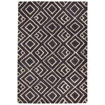 Liora Manne Wooster Kuba Charcoal Area Rug - Soothing Company