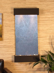 Whispering Creek: Black FeatherStone and Antique Bronze Trim