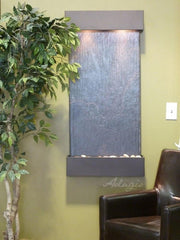 Whispering Creek: Black FeatherStone and Silver Metallic Trim