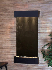 Whispering Creek: Black FeatherStone and Textured Black Trim