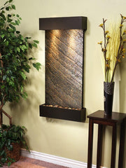 Whispering Creek: Green FeatherStone and Antique Bronze Trim