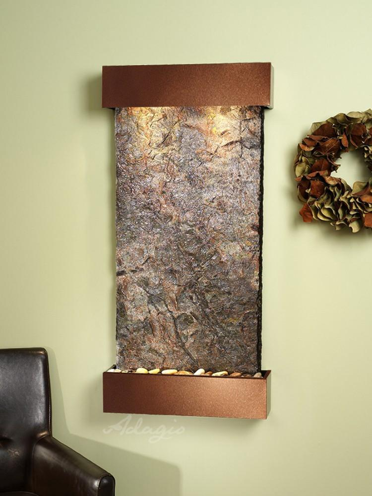 Whispering Creek: Green Slate and Woodland Brown Trim