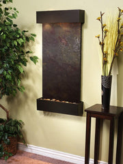 Whispering Creek: Multi-Color FeatherStone and Antique Bronze Trim