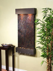 Whispering Creek: Multi-Color Slate and Antique Bronze Trim