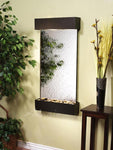 Whispering Creek: Silver Mirror and Antique Bronze Trim