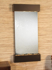 Whispering Creek: Silver Mirror and Blackened Copper Trim