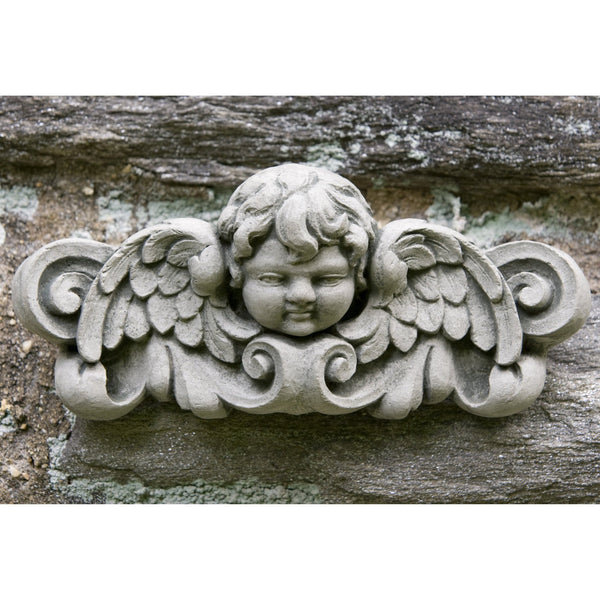 Williamsburg Cherub Plaque - Soothing Company