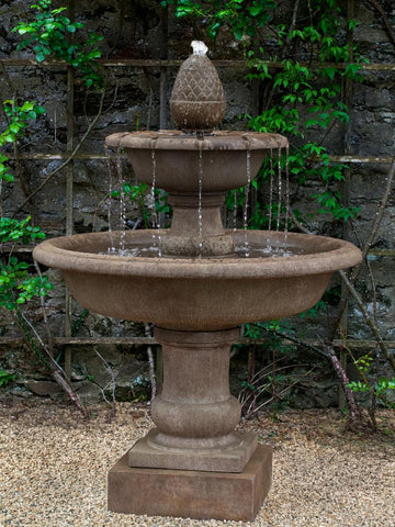 Wiltshire Tiered Outdoor Fountain - Soothing Company