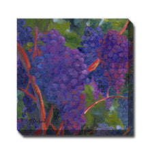 Wine On The Vine Outdoor Canvas Art