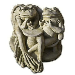 Wine Time Cast Stone Garden Statue - Soothing Company