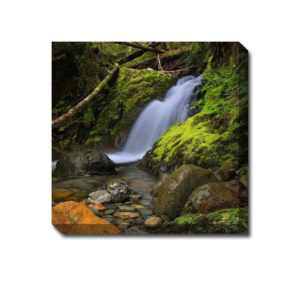 Woodland Falls Outdoor Canvas Art