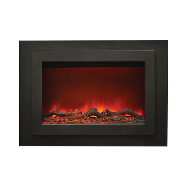 "Sierra Flames 37"" Zero Clearance Electric Fireplace - Soothing Company"