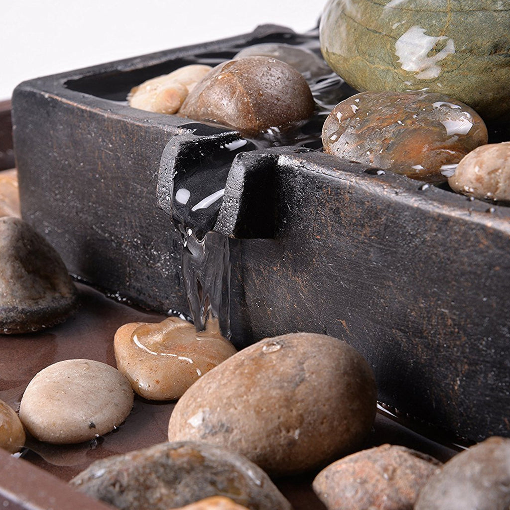 Zen Indoor Table Fountain - Soothing Company