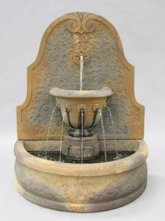 Parisian Outdoor Wall Fountain - Soothing Walls