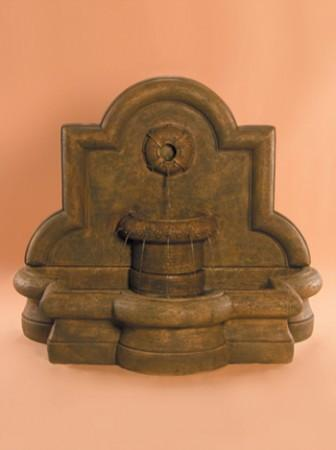 Rosette Quatrefoil Wall Fountain - Soothing Walls