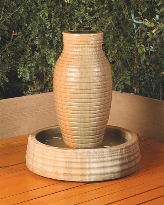 Amphora Outdoor Fountain - Soothing Walls