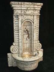 Champagne Wall Fountain