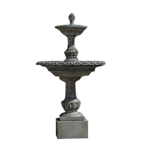 Charleston Tiered Outdoor Water Fountain - Soothing Company