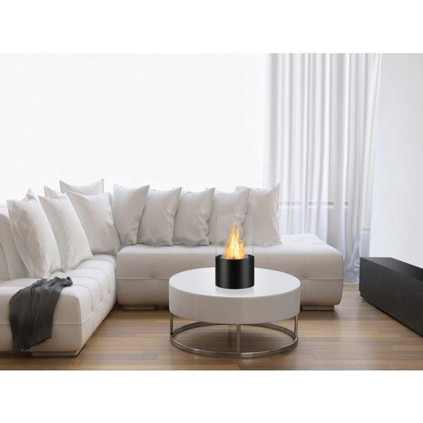 Circum Bio Ethanol Tabletop Fireplace in Black - Soothing Company