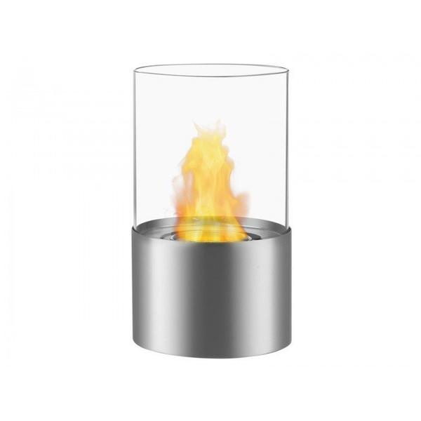 Circum Bio Ethanol Tabletop Fireplace in Stainless Steel - Soothing Company