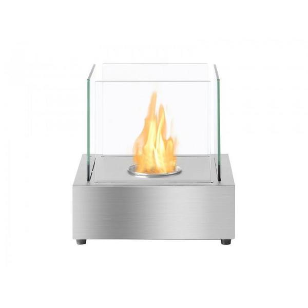 Cube Tabletop Bio Ethanol Fireplace - Soothing Company
