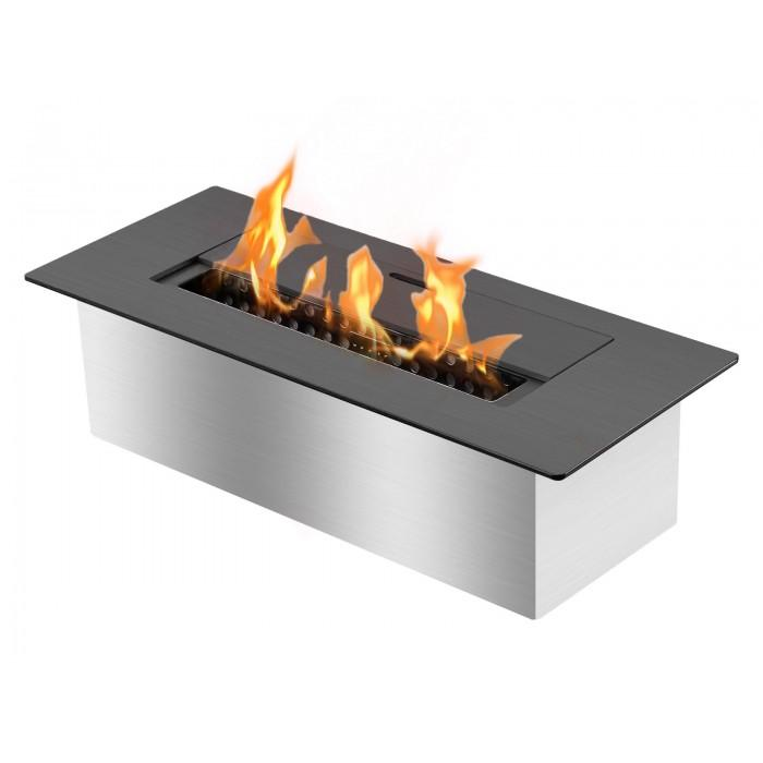Ignis EB1200 Ethanol Fireplace Burner Insert in Black - Soothing Company