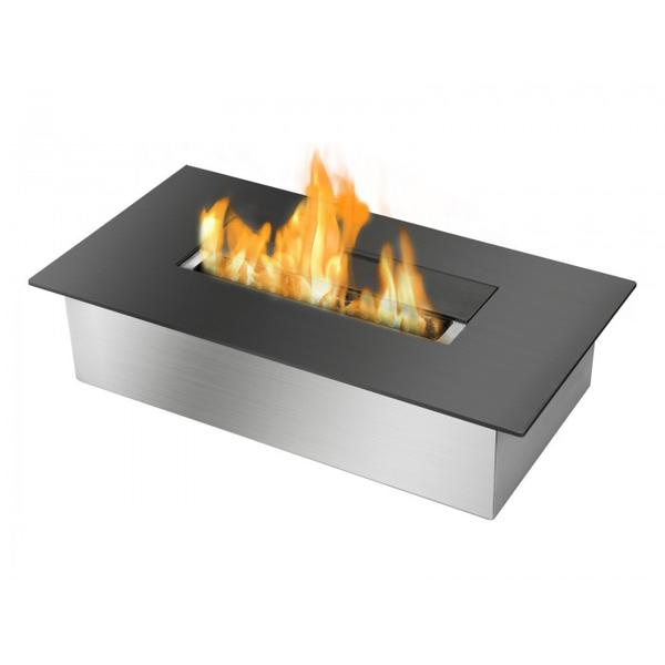 Ignis EB1400 Ethanol Fireplace Burner Insert in Black - Soothing Company