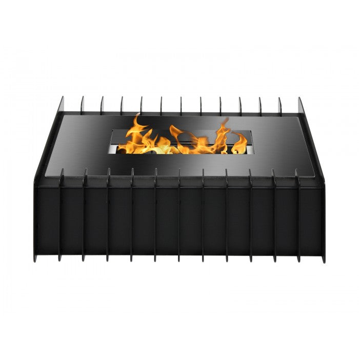 Ignis EBG1400 Fireplace Grate in Black - Soothing Company