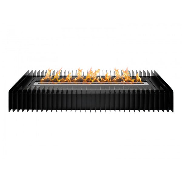Ignis EBG3600 Ethanol Fireplace Grate in Black - Soothing Company