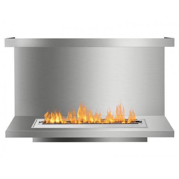 Ignis FB3600-C-Shaped Ethanol Fireplace Insert - Soothing Company