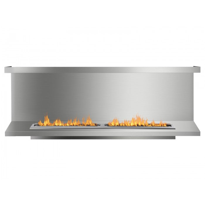 Ignis FB6200-C-Shaped Ethanol Fireplace Insert - Soothing Company
