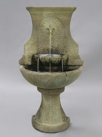 Floret Wall Outdoor Water Fountain