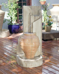 Honey Pot Outdoor Fountain - Soothing Walls