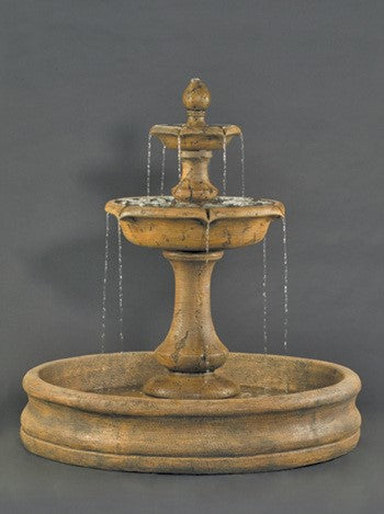 Large Verona Fountain with 55 inch Basin