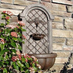 The Manchester Outdoor Wall Fountain - Soothing Company