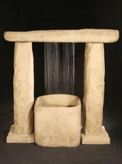 Stonehenge Fountain - Soothing Walls