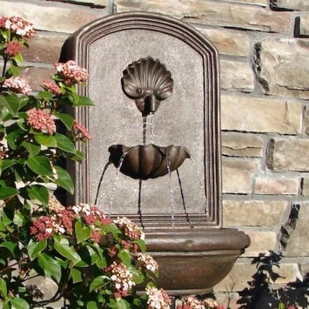 The Napoli Outdoor Wall Fountain - Soothing Company