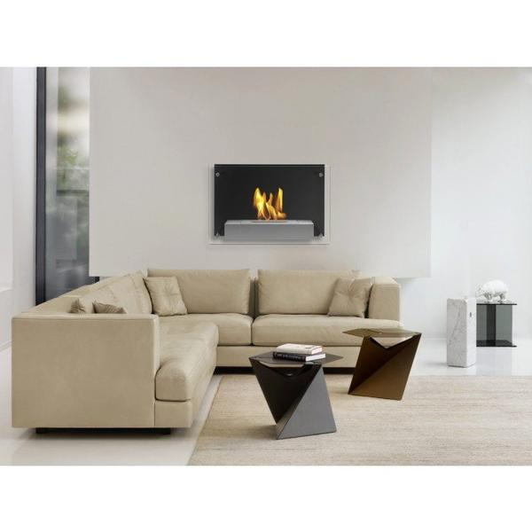 Ignis Senti Bio - Ethanol Wall Fireplace - Soothing Company