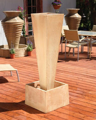 Spire Outdoor Fountain - Soothing Walls