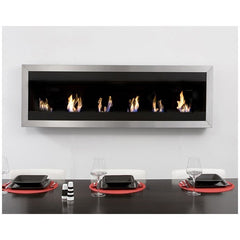 Bio Blaze Square XL 1 Wall Mounted Ethanol Fireplace - Soothing Company