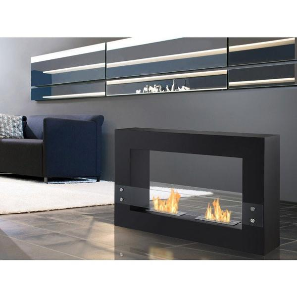 Tectum Freestanding Bio Ethanol  Fireplace - Soothing Company
