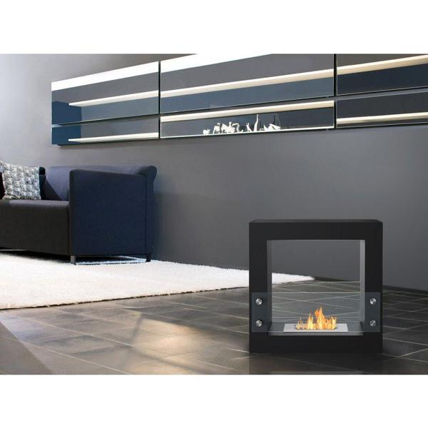 Tectum Mini – Freestanding Ventless Ethanol Fireplace - Soothing Company