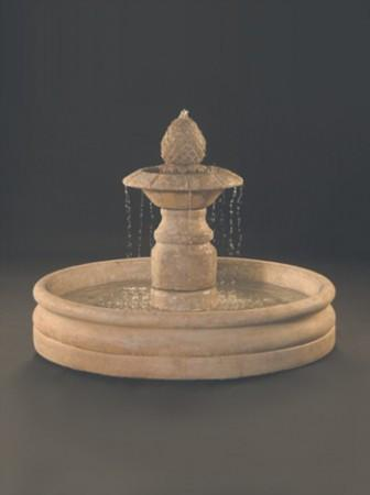Venetian Fountain with 46 inch Basin - Soothing Walls