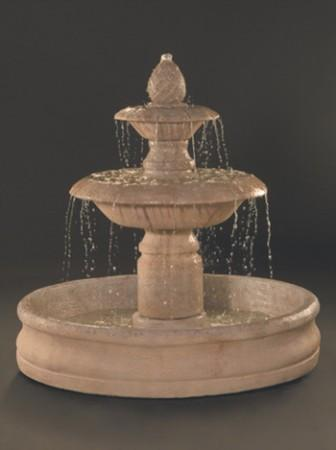 Venetian Fountain with 55 inch Basin - Soothing Walls