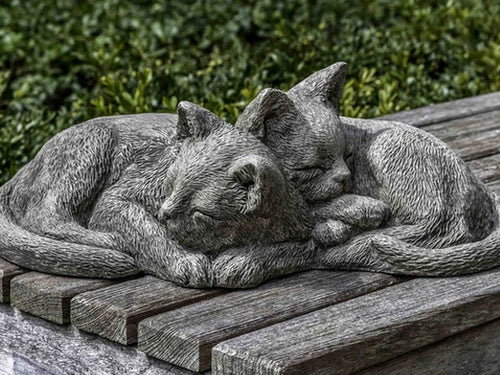 Nap Time Kittens Cat Statue