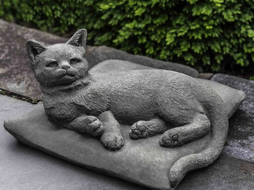 Lazy Afternoon Cat Statue